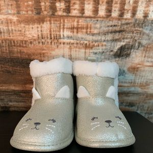 Cute Infant boots(Just one you by Carter's) 3-6mos